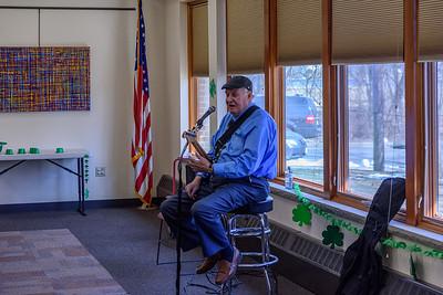 St. Patricks Day at Library