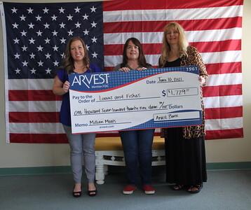 2021 Arvest million  meals donation