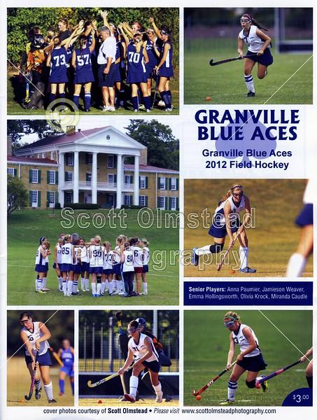 2012 Game Program - Senior Night (10-13-12)