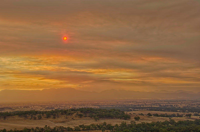 Grampians Mountain Fires