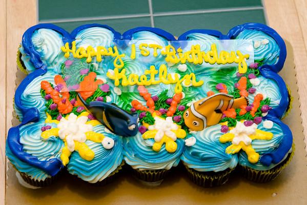 Kaetlyn's First Birthday Parties