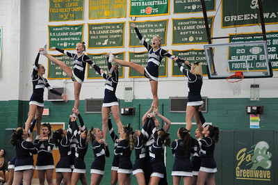 RHS Cheering South Shore League Champs 2012!!
