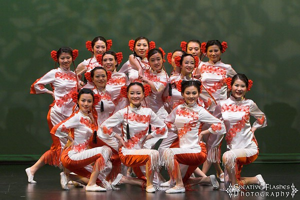 Paper Cutting Girls by PPAC Dance Team