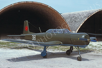 Albanian Air Force Yakovlev Yak-52 Basic Trainer Airplane Pictures for Sale