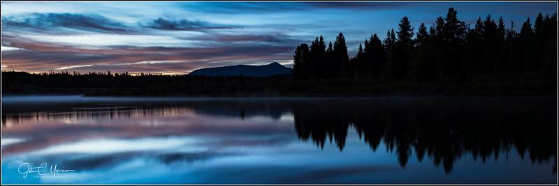 Oxbow Bend Sunrise looking east