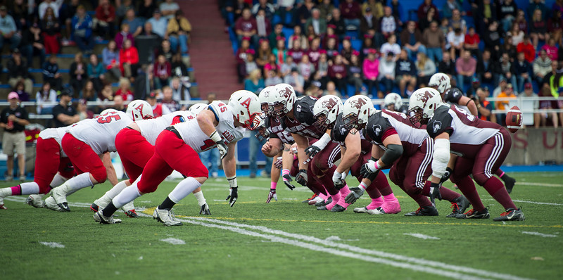 St Marys vs Acadia Football, CIS, AUS
