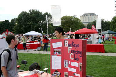 Welcome Week Involvement Fair 2012