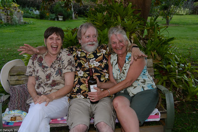 A BBQ with Conrad and Heidi in May 2103