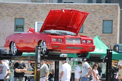 Muskegon's Hot Rod Power Tour Car Show 2012