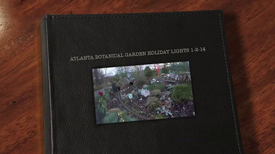 Atlanta Botanical Garden Holiday Lights 11-2-14   VIDEO