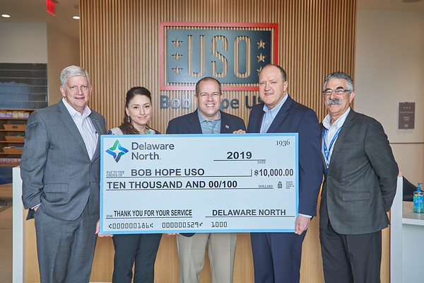 Bob Hope USO- Delaware North Event