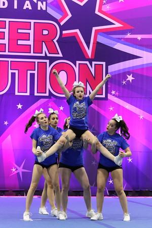 Champion Cheer Academy  Fierce 5 - Senior Stunt Group 2
