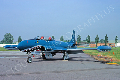 Sharkmouth Lockheed T-33 Shooting Star Airplane Pictures