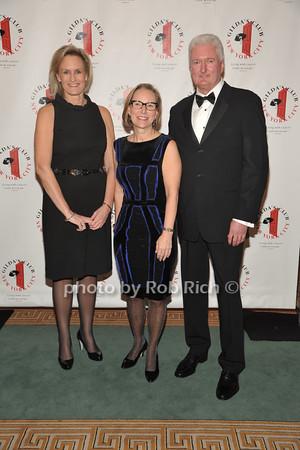 Honorees Laura Schumacher, Paul B.Shields, and Sandra E. Peterson
