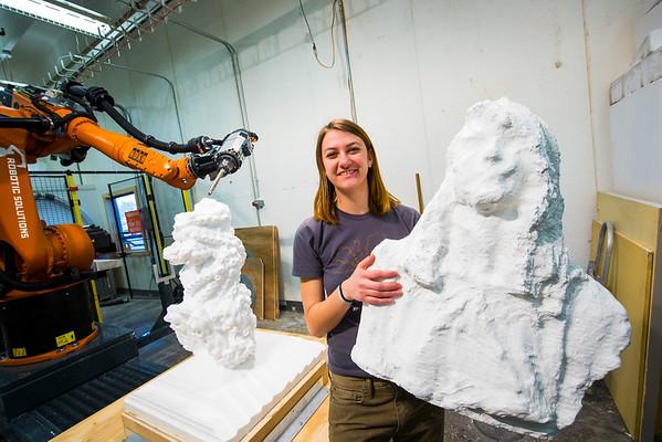 Art Robot Sculpture
