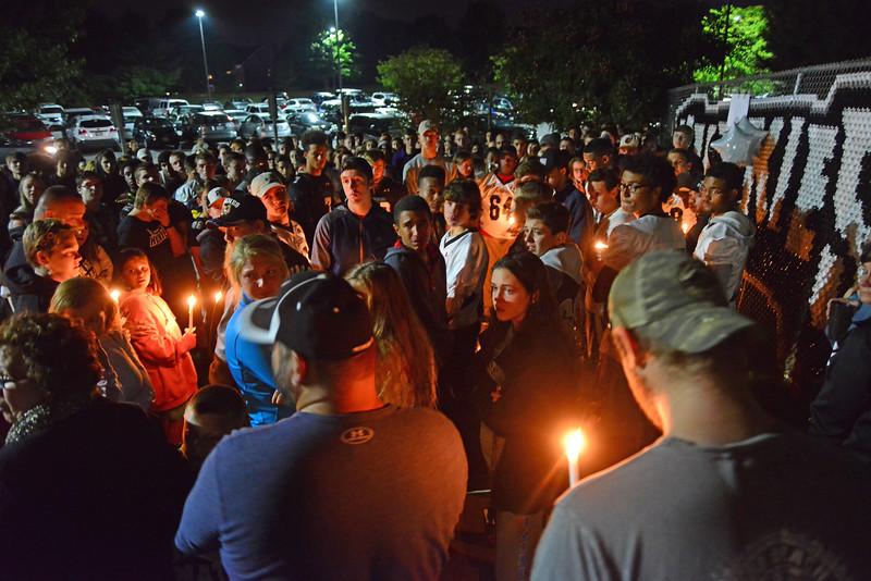 Vigil for Isaac Pfarr