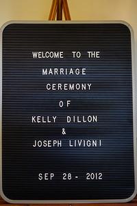 Joe and Kelly Wedding - Ceremony