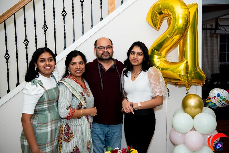 Sakshika's 21st Birthday