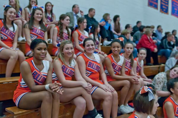 2011-01-07 Cheerleaders - Dayton vs Rahway