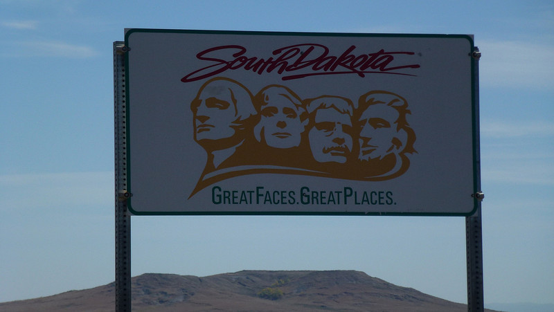 Advertising the border into South Dakota