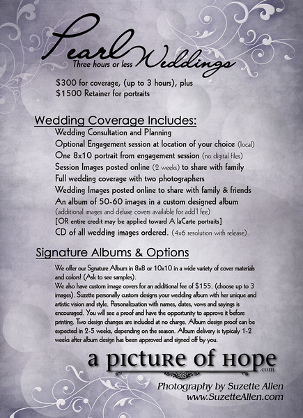 Wedding Prices - DEMI