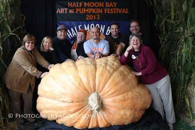 Sun a.m. - Giant Pumpkin Photos: Oct 20, 2013