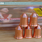 SKU: P-PMX-NOZZLE/220990, Plasma Consumable #220990 ≤105A Nozzles(5) Generic, Compatible with Hypertherm® Powermax® 105A System