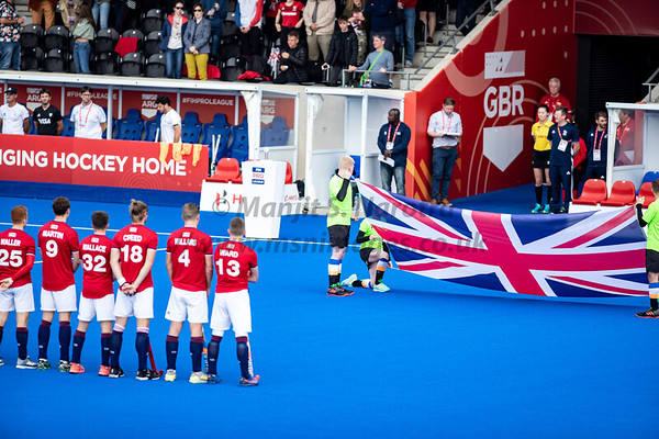England vs Argentina FIH Pro Hockey League Mens 18th May 2019
