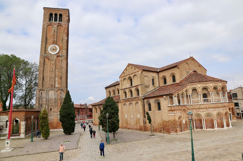 Santa Maria e San Donato Church, dates from the 1100s - Murano, Italy