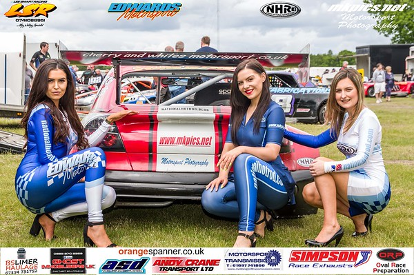 Grid Girls & National Hot Rods 2019