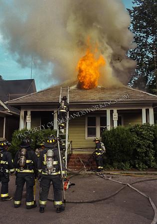 Bridgeport, CT 21 Wood Terr dwelling fire