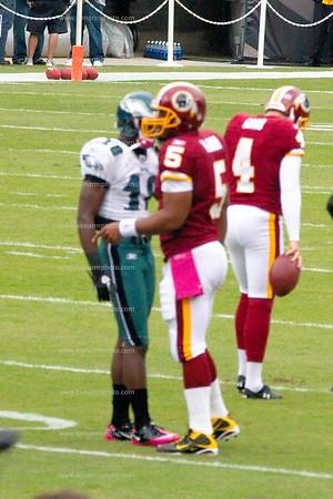 Philadelphia Eagles McNabb vs Vick