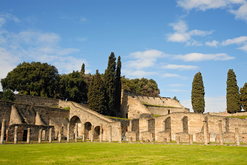 Palestra dei Gladiatori (Court of Gladiators), Pompeii (Italy)