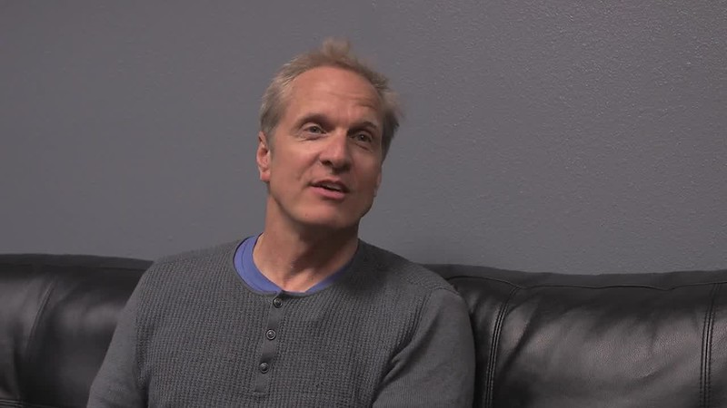 Patrick Fabian takes flight at Kirtland AFB