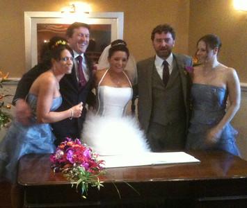 Nigel Alex Burke Wedding 2013