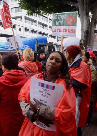 Teachers' Strike - Day 2