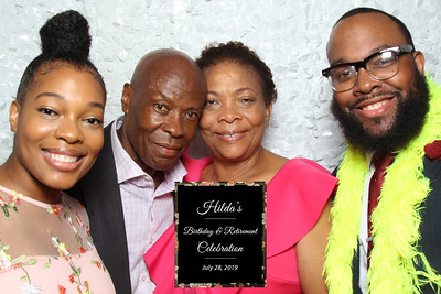 Hilda's Birthday & Retirement Celebration - 7/29/19