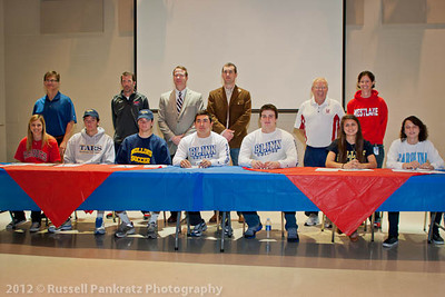 2012 National Letter-of-Intent Signing Day at Westlake High School