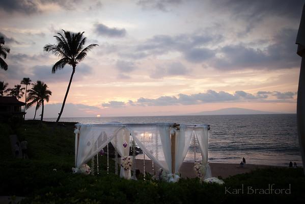 Maui Beach Wedding Montage