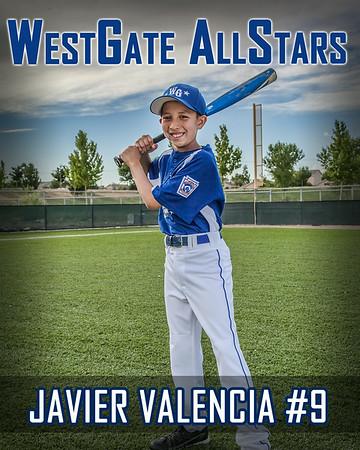 Javier Valencia #9