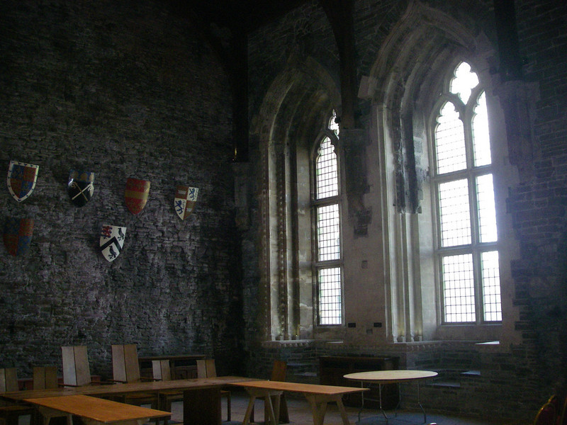 this is part of the great hall.  i swear it must be 50 feet high