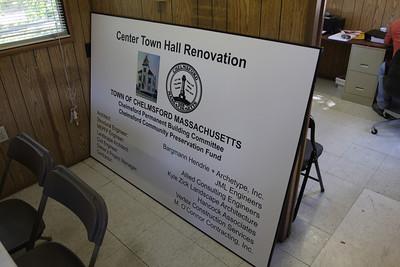 Center Town Hall Progress