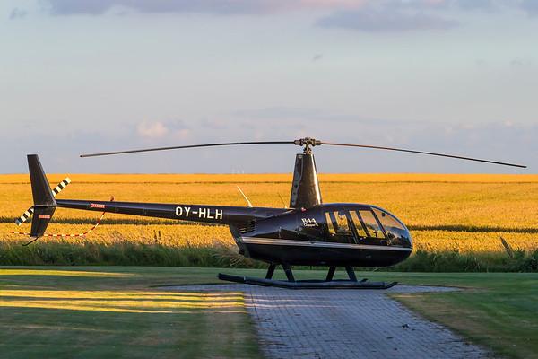 OY-HLH - Robinson R44 Clipper II