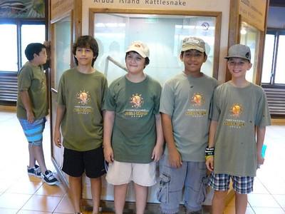 Arikok Junior Ranger Camp - first weekend!