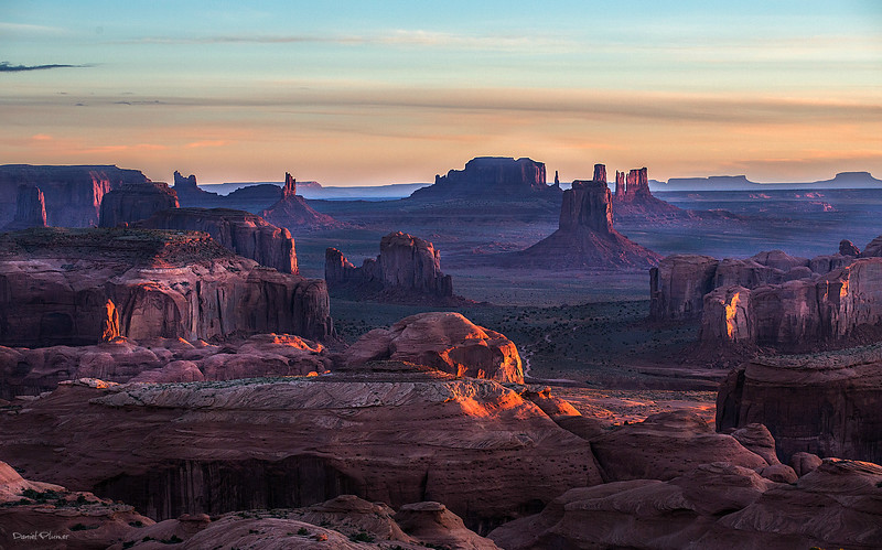 Sunrise At Hunt's Mesa