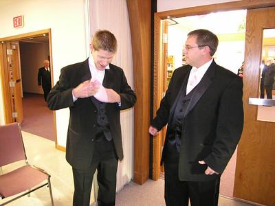 Pam & Jim, November 25, 2006