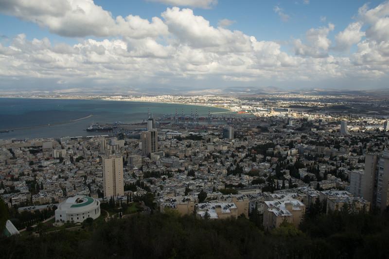 Above Haifa