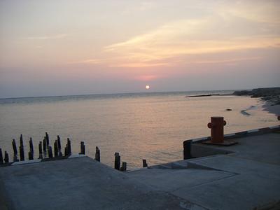 Sunset at Cd. Del Carmen