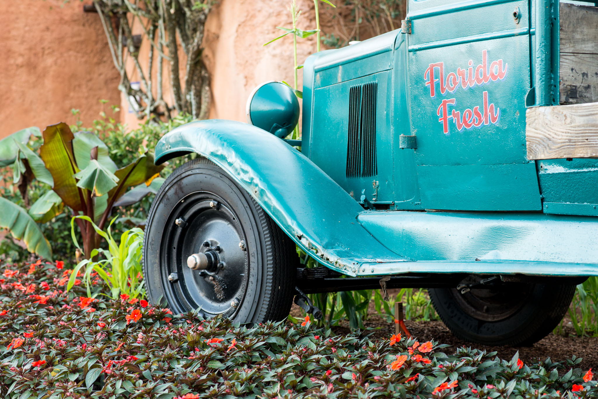 Florid Fresh Truck Cab - Epcot Flower & Garden Festival 2016