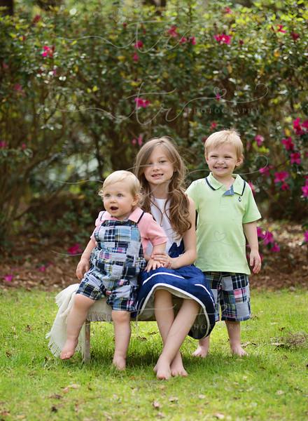 Aubrey, Rhett and Dawson~Happy Easter!-2016